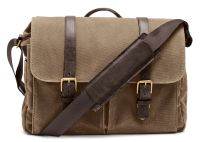 ONA Bag, The Brixton, Canvas, braun